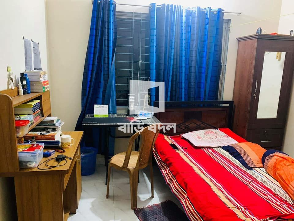 Flat rent in Dhaka বাড্ডা, Middle badda . Jomidar bari mor,House choitali.