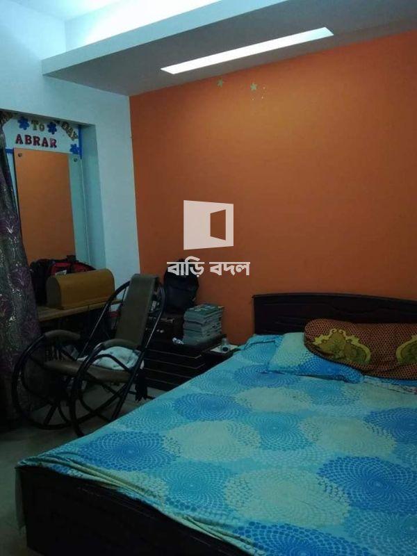 Flat rent in Dhaka উত্তরা,  Kosaibari relget, beside of sector 2/4 Uttara Dhaka.