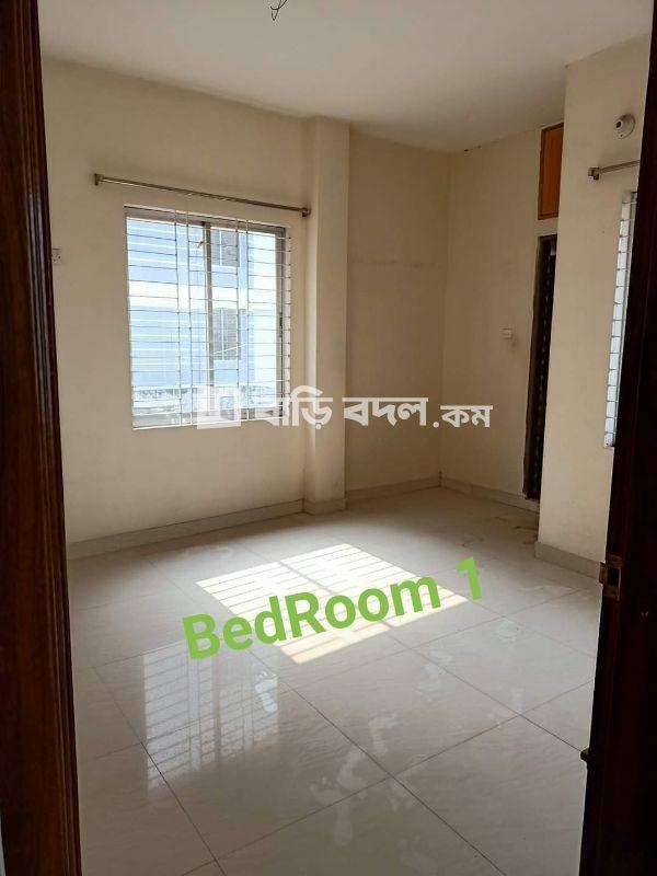 Flat rent in Dhaka মালিবাগ, Dilu Road, Somaj Kolyan Parishad Building Number: 351/B