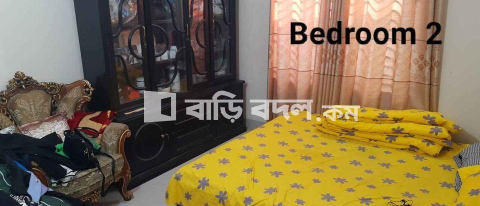 Flat rent in Dhaka উত্তরা, উত্তরা সেক্টর নং-০৯,রোড নং-০৫,৫২ নং বাড়ি