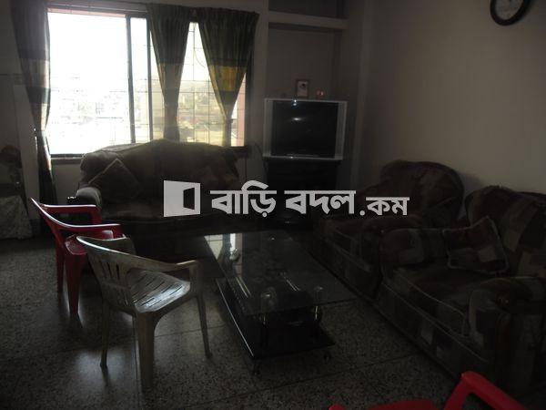 Flat rent in Dhaka পুরান ঢাকা, 956/2 Outer Circular Road Rajarbagh Dhaka:1217. Flat 8 (C)