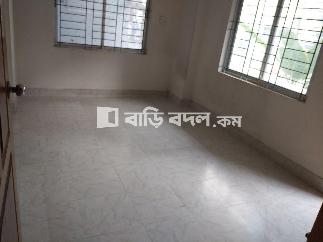 Flat rent in Dhaka উত্তরা,  উওরা ১২ নম্বর সেক্টর ফ্লোর নাম্বারঃ ২য় তলা(দক্ষিণ দিকে)