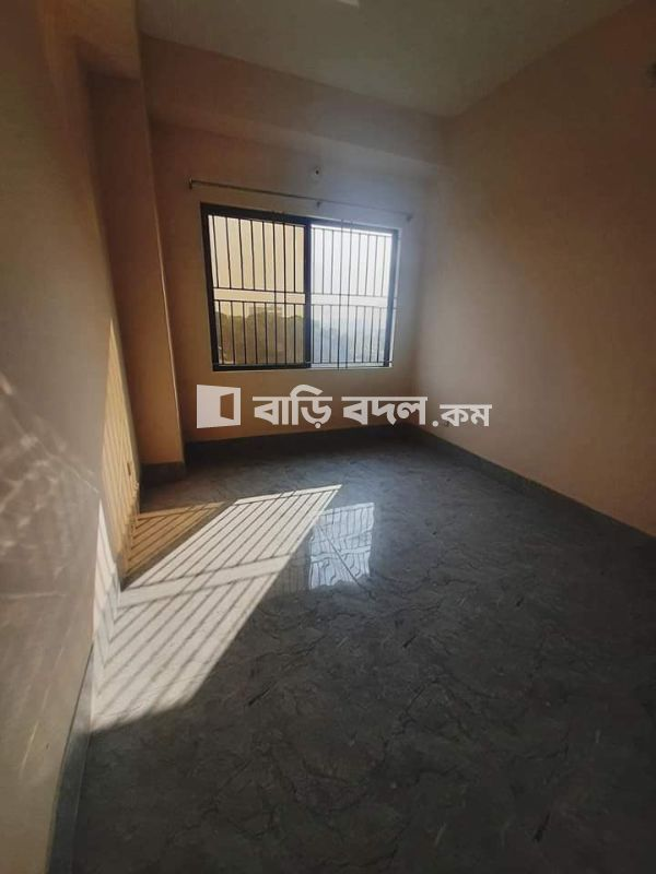 Flat rent in Dhaka বিমানবন্দর, kawlar Goltek Madrasha Road Airport Dhaka. 1229