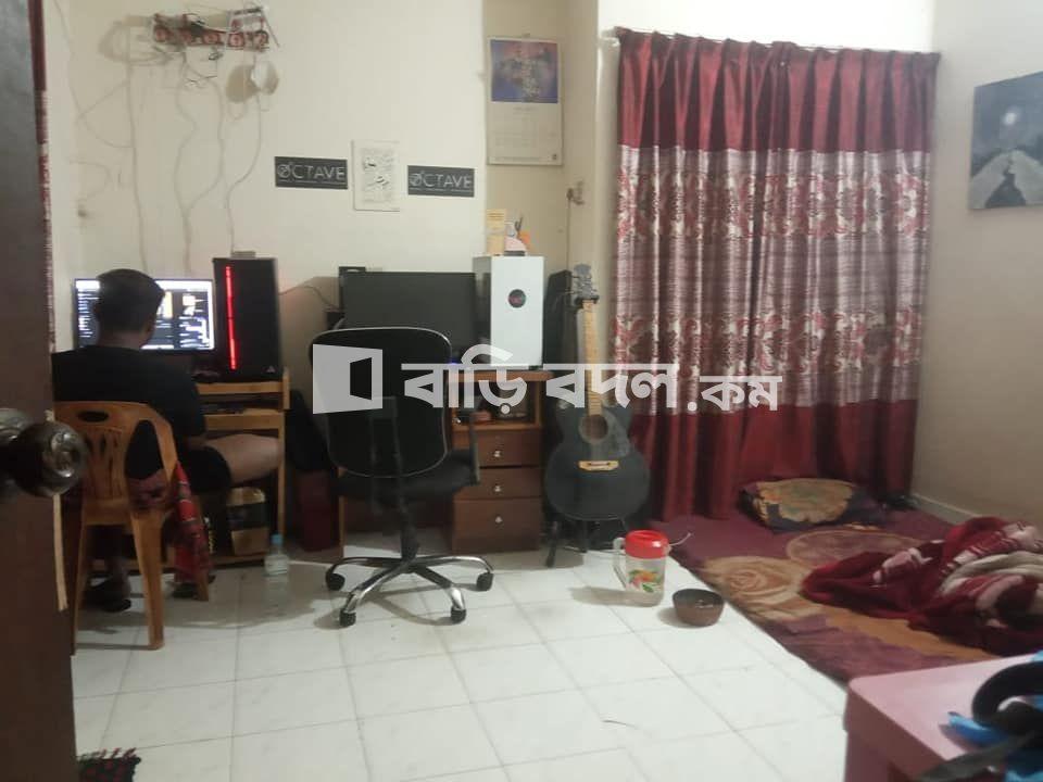 Flat rent in Dhaka উত্তরা, বাসা ৩৭ রোড ১২ সেক্টর ১১