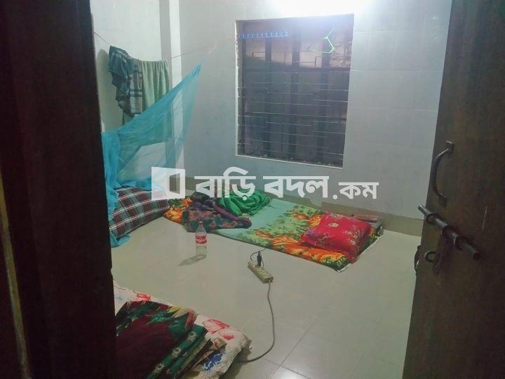 ফ্ল্যাট ভাড়া:  আদর্শনগর, বাড্ডা, লিংক রোড,ঢাকা।  | ১  টি বেড রুম | বাড্ডা | Baribodol.com