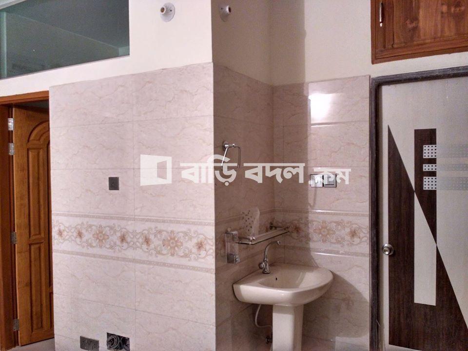 Flat rent in Dhaka বাড্ডা, আনন্দনগর, মেরুল বাড্ডা, ঢাকা।