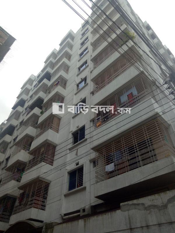 Flat rent in Dhaka ভাটারা, Sayednogor 100feet road er pase