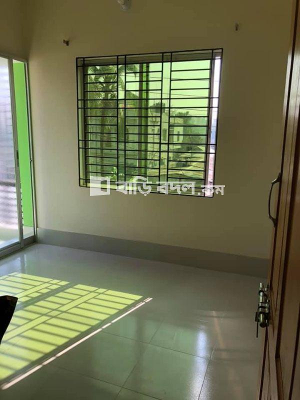 Flat rent in Dhaka উত্তর খান, আব্দুল্লাহপুর থেকে 2.3 কিঃ মিঃ । অটোরিক্সায় ১০ মিনিটের পথ। ১০ টাকা ভাড়া।