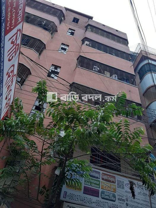 Flat rent in Dhaka গুলশান, শাহাজাতপুরে মেইনরাস্তা থেকে ২ বাড়ি পরে