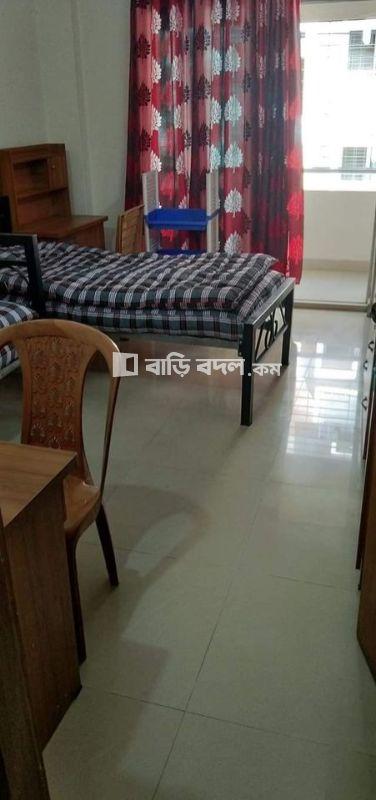 Seat rent in  NSU gate2.Block#B. Road# 1 | 1  bed(s) | Bashundhara RA | Baribodol.com, Best property rental platform in Bangladesh