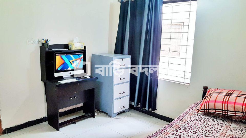 Flat rent in Dhaka বসুন্ধরা আবাসিক এলাকা, Block D road 10 ( 5/6 min walking distance from NSU,IUB , Apollo gate )