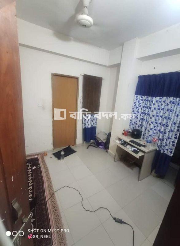 Flat rent in Dhaka ধানমন্ডি, ধানমণ্ডি 27,সংকর_জাফরাবাদ হোসেন সাহেব গলি,