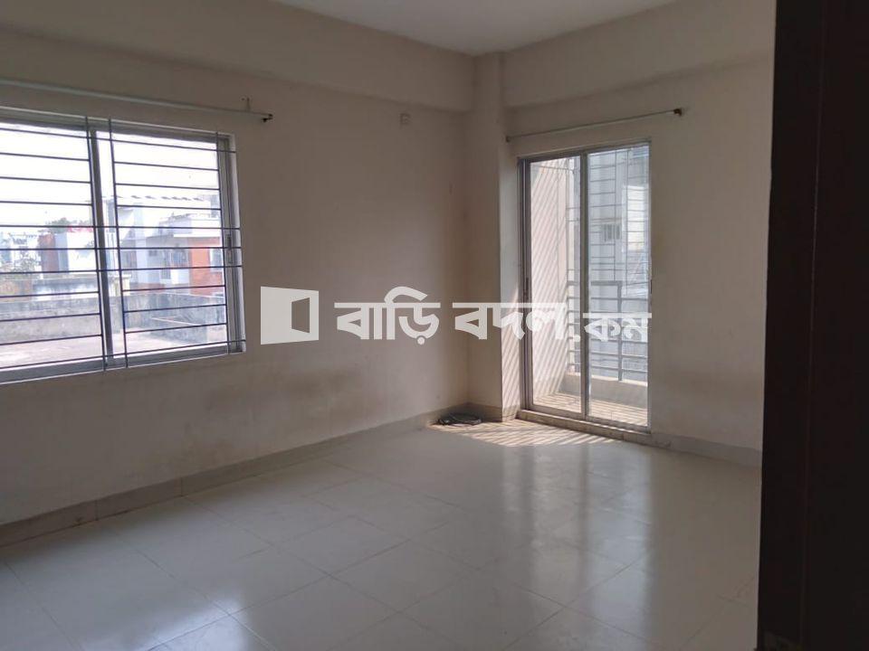 Flat rent in Dhaka বসুন্ধরা আবাসিক এলাকা, House # 194, Rd # 6, Block # F, Bashundhara R/A, Dhaka.  (Very close to AIUB, Viquarunnisa Noon School & College, Aga Khan School, and Bashundhara Convention Centre-2)