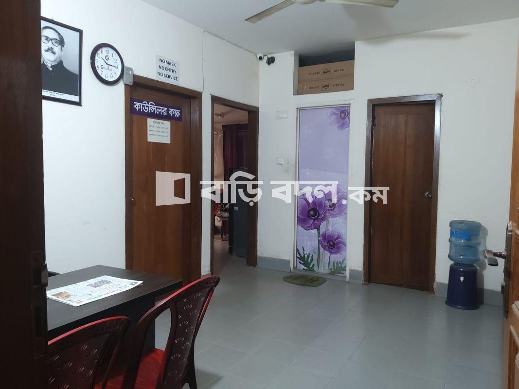 Flat rent in Dhaka বাড্ডা, উত্তর বাড্ডা, হাজীপাড়া,আলীরমোর রোডে