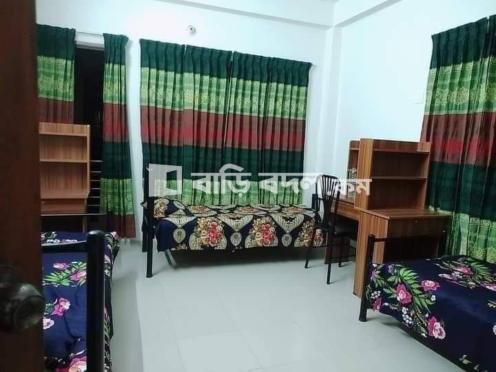 Seat rent in Dhaka শ্যামলী, শ্যামলী প্রিন্স বাজারের সাথে অল ফার্নিস্ট মেয়েদের হোস্টেলে