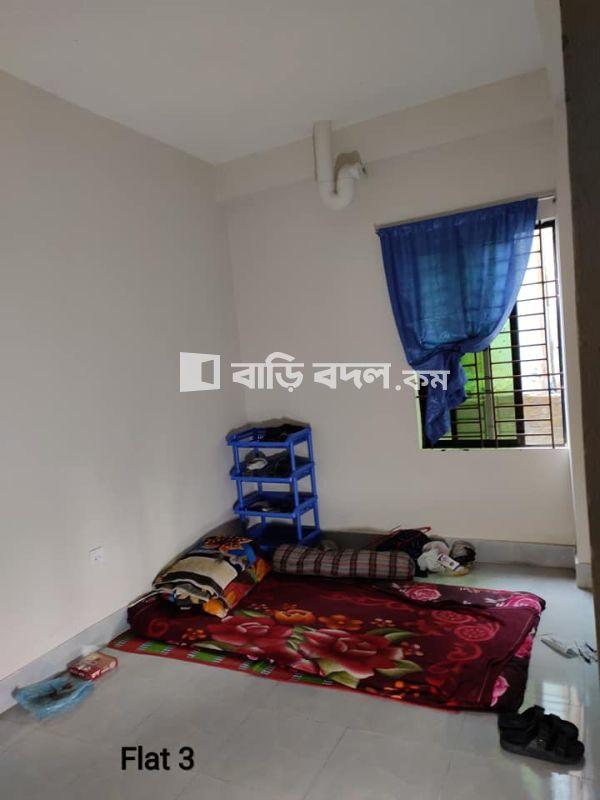 Flat rent in Dhaka উত্তর খান,  ৪৪/৬ নোয়াখোলা, উজামপুর প্রাইমারি স্কুলের পাশে, উজামপুর , উত্তরখান , ঢাকা।