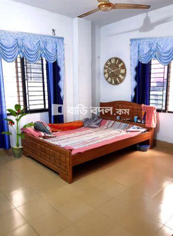 Flat rent in উত্তরা ১২ নাম্বার সেক্টর খাল পাড়ের কাছে, মসজিদের পেছনে ছোট ব্রিজ পার হয়ে চণ্ডালভোগ (১২ নাম্বার সেক্টর এর একদম সাথে) | 3  bed(s) | Uttara | Baribodol.com, Best property rental platform in Bangladesh