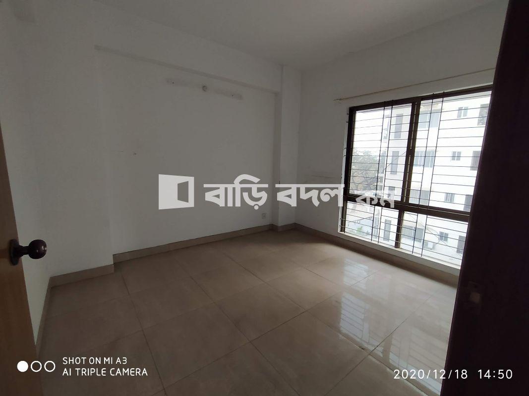 Flat rent in Dhaka উত্তরা, UTTARA, SECTOR 10, ROAD # 13.