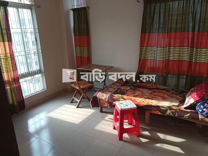 Flat rent in Dhaka রামপুরা, আফতাবনগর ই ব্লকে,