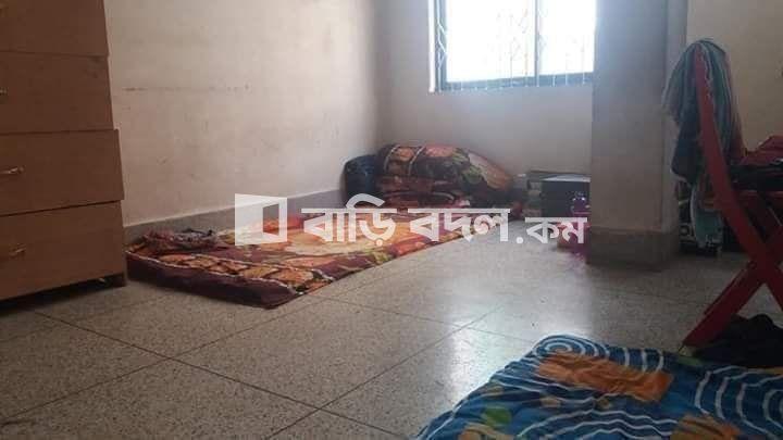 Flat rent in # বনশ্রী, Block - C, Road - 05, House - 36, 3rd floor, #ইস্ট ওয়েস্ট ইউনিভার্সিটি থেকে ৭-৮ মিনিট দুরুত্বে।  | 1  bed(s) | Banasree | Baribodol.com, Best property rental platform in Bangladesh