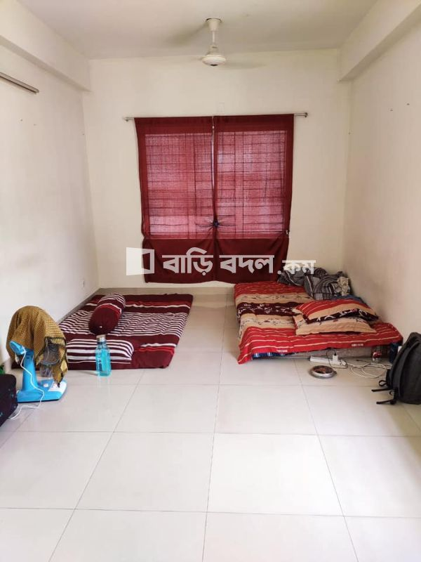 Flat rent in Bashundhara R/A 