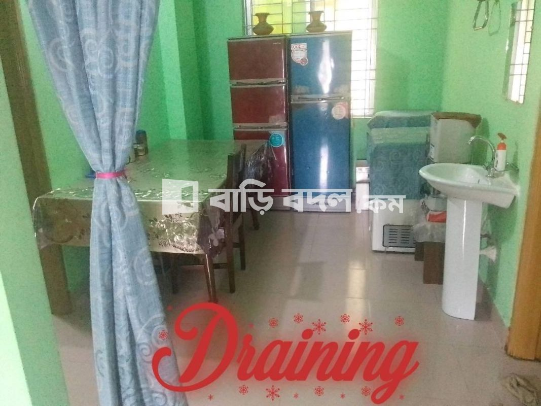 Flat rent in Chattogram চট্রগ্রাম সদর, কুসুমবাগ আবাসিক এলাকায় নতুন বিল্ডিং এ ৬ষ্ট তলায়