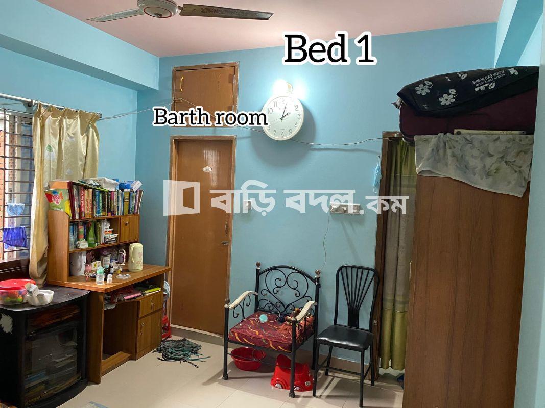Flat rent in Dhaka মালিবাগ, 394/6gulbagh, malibagh Dhaka