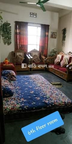 Flat rent in Dhaka খিলগাঁও, To_Let  257/2 ; khilgaon