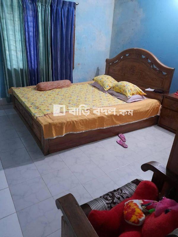 Flat rent in Sylhet সিলেট সদর, নুরানী , মুগলিটুলা নতুন মসজিদের পিছনে,সুবিদবাজার।