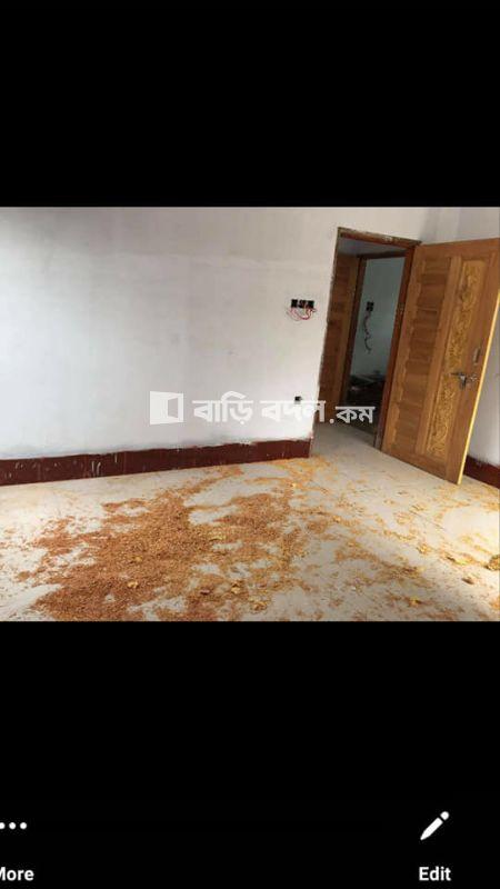 Flat rent in Khulna খুলনা সদর, gollamari raisa clinic er pechone.main road theke 2 miniter poth.