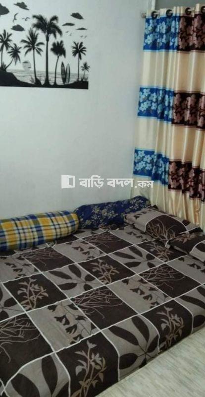 Sublet rent in Dhaka শেওড়াপাড়া, পশ্চিম শেওড়া পাড়া, মনিপুর স্কুলের বিপরীতে।